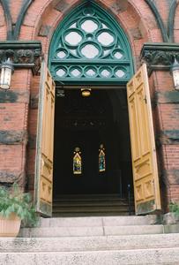 Maine Irish Heritage Center Entrance